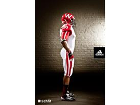 adidas Wisconsin Unrivaled Uniform SIDE