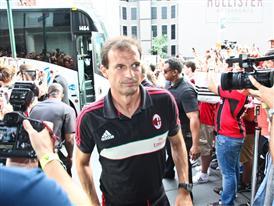 AC Milan manager Massimiliano Allegri
