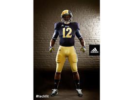 adidas Notre Dame Unrivaled Uniform Front