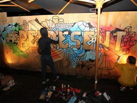 Klub 7 Crew live Painting 2