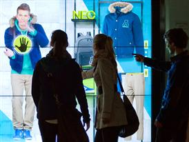 adidas NEO Window Shopping Experience 1
