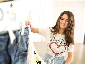 Selena Gomez, Global Style Icon for adidas NEO Label wearing items from the range