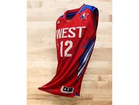 adidas NBA All-Star west jersey
