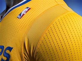 Golden State Warriors adidas Jersey Close-Up 2