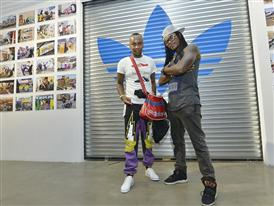 adidas Originals Brand Icons DJ Giggs Superstar and DJ Switch in AREA3