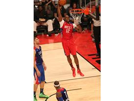 Dwight Howard of Los Angeles Lakers at NBA All-Star Game
