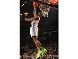 Kenneth Faried of Denver Nuggets at Rising Stars Challenge