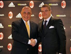 Adriano Galliani e Jean-Michel Granier