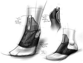 Crazyquick Football_Sketch 1