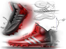 Crazyquick Football_Sketch 2