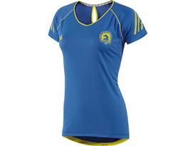 Official Boston Marathon Supernova Short-Sleeve Top W