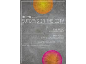 adidas Originals AREA3 Sundays In The City Flyer