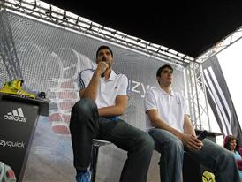 Felipe Reyes y Carlos Suárez 10