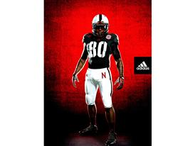 Nebraska adidas TECHFIT Uniform