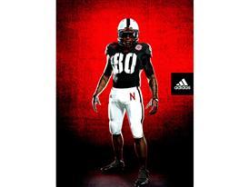 Nebraska adidas TECHFIT Uniform