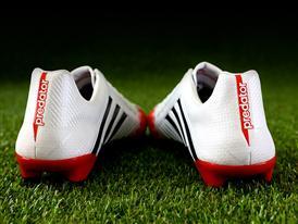 adidas Predator White & Red 8