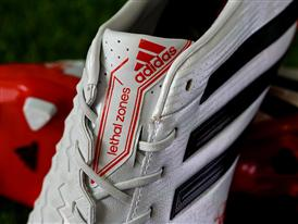 adidas Predator White & Red 10
