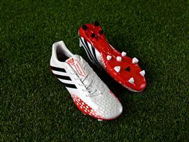 adidas Predator White & Red 14