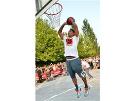 Derrick Rose playground Parco Nord Milano