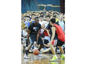 Q vs F China Tour Xi An Fans Gathering 3-John Wall