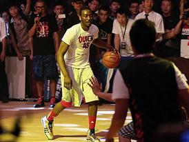 Q vs F China Tour Beijing-Fans Party 3 John Wall