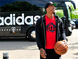D Rose Tour, adidas World Headquarters 1