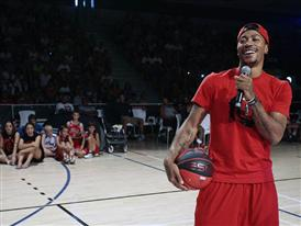 adidas D Rose Tour, Paris, Madrid, Spain, Basketball Event, 5