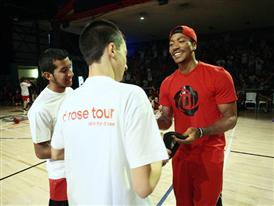 adidas D Rose Tour, Paris, Madrid, Spain, Basketball Event, 4