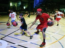 adidas D Rose Tour, Paris, Madrid, Spain, Basketball Event, 3