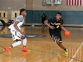 Goodluck Okonoboh and Kevon Looney - adidas Super 64 (day 2)