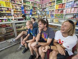 Athletes: Guido Unterwurzacher, Christian Hechenberger, Max Berger, Flo Dertnig