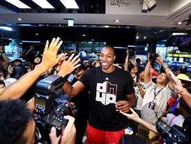 Dwight Howard and adidas Launch D Howard 4, Tip-Off Asia Tour 2