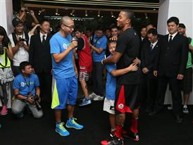 adidas D. Rose Tour in Beijing, China, 4