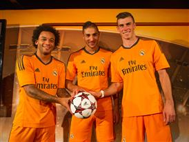 Marcelo, Benzema, Bale