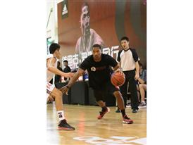 adidas D. Rose Tour in Dongguan, China 1