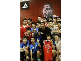 adidas D. Rose Tour in Dongguan, China 4