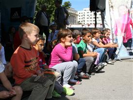Игри и награди за първият учебен ден