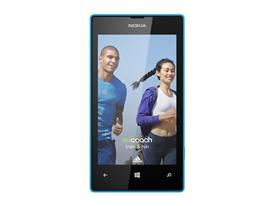 Nokia Lumia 520 with miCoach app