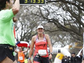 Los corredores del Maratón de Buenos Aires dieron cierre a Carrera de Naciones