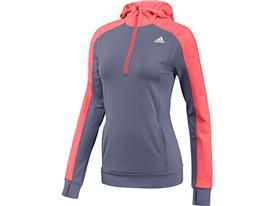 Bluza z kapturem adidas Techfit Climawarm Half-Zip