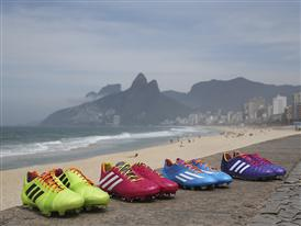 adidas gears up for world cup with colourful samba boot collection