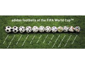 adidas WC ball history
