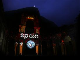Projection Spain