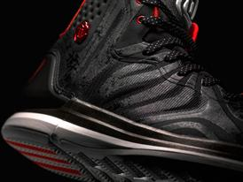 D Rose 4.5 Black, Detail 1