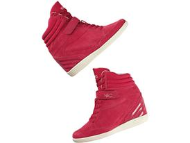 adidas neo super wedge rosa
