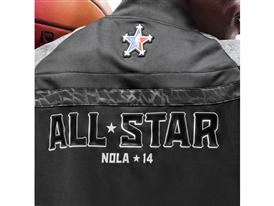 adidas NBA All-Star Warm-Up Detail 2 Clipped