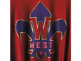 adidas NBA All-Star Jersey WEST Detail 3