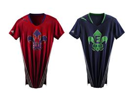 adidas NBA All-Star Jersey EAST WEST Clipped