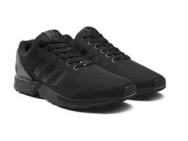 mens adidas zx flux triple black nz