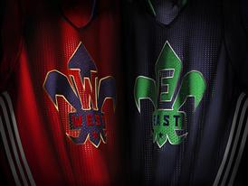 adidas NBA All-Star Jersey EAST WEST Detail